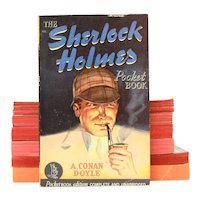 1942 The Sherlock Holmes Pulp Fiction Paperback Pocket Books #95, Appears Unread, A Conan Doyle Mystery