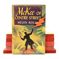 1933 McKee of Centre Street Pulp Paperback Mystery by Helen Reilly, Popular Library #33