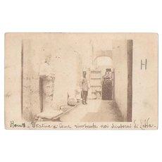 1912 Italian Soldiers Tripoli Postcard RPPC Italy Occupation Libya