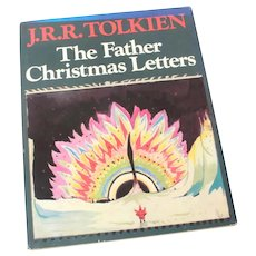JRR Tolkien The Father Christmas Letters 1976 Hardcover Book with Dust Jacket