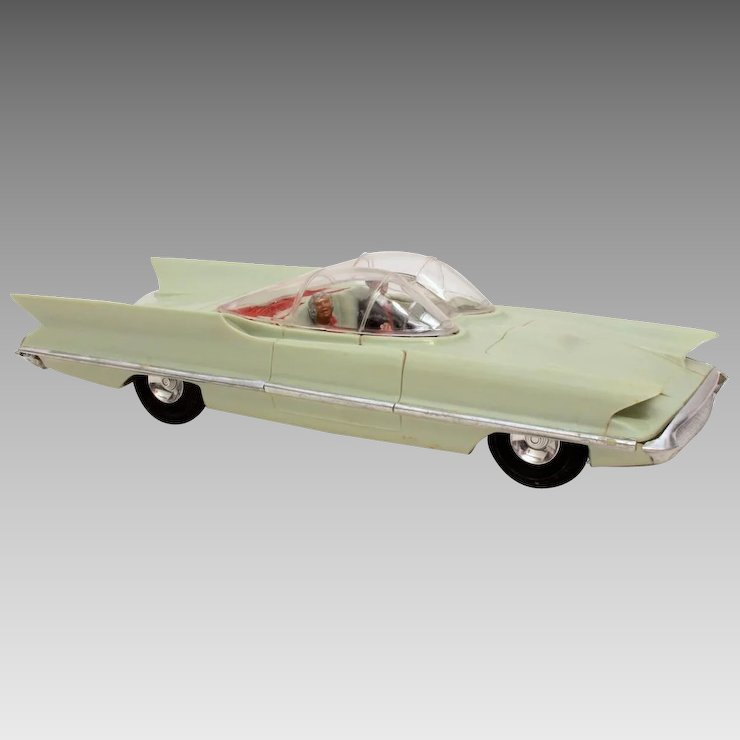 1956 Lincoln Futura Concept Car Plastic Model By Revell Inspiration
