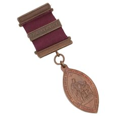 Waifs & Strays Society Childrens Union Church of England English Bronze Service Medal