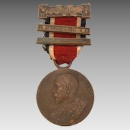 1914-1915 King's Medal, Bronze King George V Award for Attendance Conduct and Industry