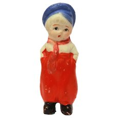Japan Bisque Dutch Boy Penny Doll Frozen Charlotte