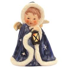 Blue Christmas Angel Porcelain Figurine Goebel W Germany