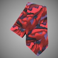 Jerry Garcia Grateful Dead Abstract 100% Silk Tie