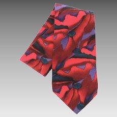 Jerry Garcia Grateful Dead Abstract 100% Silk Tie