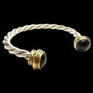 Tantalizing Handmade Torque Style Bracelet