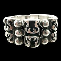 "Bewitching Victoria Brilanti ""Double Angel"" Bracelet c. 1955"