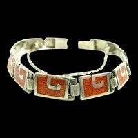 Uncommon Color Margot de Taxco Bracelet #5403 c. 1955