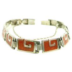 Uncommon Color Margot de Taxco Bracelet #5403 c. 1955