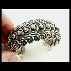 Lovely Los Castillo Cuff Bracelet #263 c. 1980