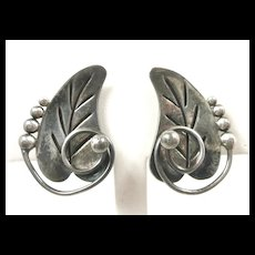 Realistic Reveriano Castillo Earrings #196 c. 1955