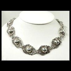Sublime Margot de Taxco Necklace #5270 c. 1955