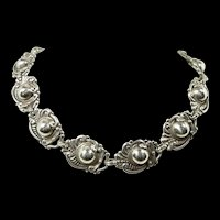 Sublime Margot de Taxco Necklace #5270 c. 1955