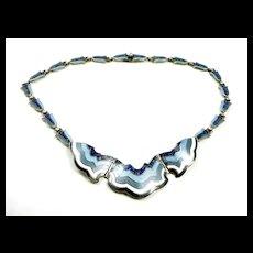 Smashing Margot de Taxco Scalloping Necklace #5696