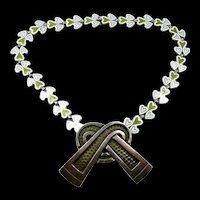 Married Margot de Taxco Necklace Brooch/ Pendant c. 1955
