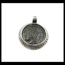 Alluring Artisan Ancient Alexander the Great Coin Pendant