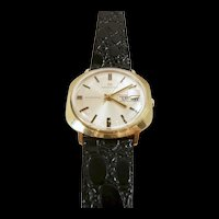 Exciting Vintage Gold Hamilton Man's Wrist Watch c. 1970