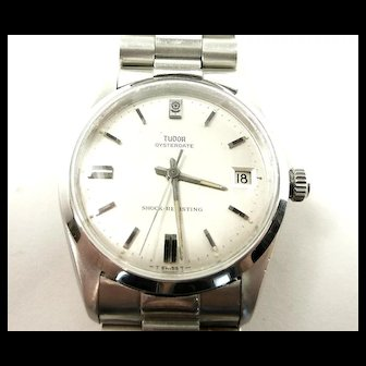 Charming Tudor Oysterdate Vintage Wristwatch #7992 c. 1970