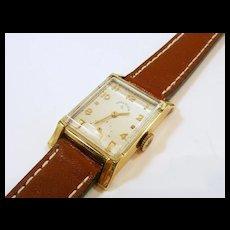 Vintage Lord Elgin Tank Style Watch c. 1950's