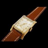 Vintage Lord Elgin Tank Style Watch c. 1950's
