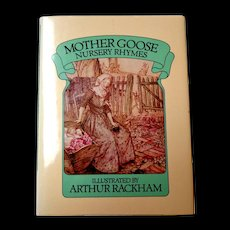 Mother Goose Nursery Rhymes.  Illust. Arthur Rackham.  1985. As New Condition.