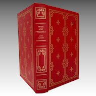 Pride and Prejudice. Jane Austen.  Leather.  Franklin Library. 1980.  Beautiful Edition.  As New Condition.