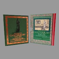 Complete Canterbury Tales.  Chaucer.  Burne-Jones & William Morris Illustrations.  Beautiful Edition with Slipcase.