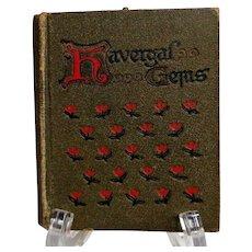 Havergal Gems. C. 1920.  Gorgeous Illustrations.  Miniature Size.  Very Scarce. - Red Tag Sale Item
