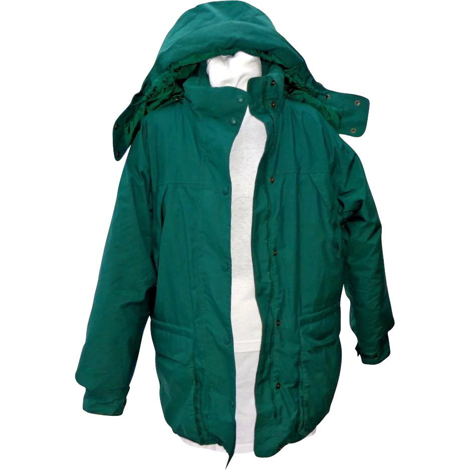 02da2c4b4 Vintage Eddie Bauer Women's Goose Down Filled Parka. Large. Green ...