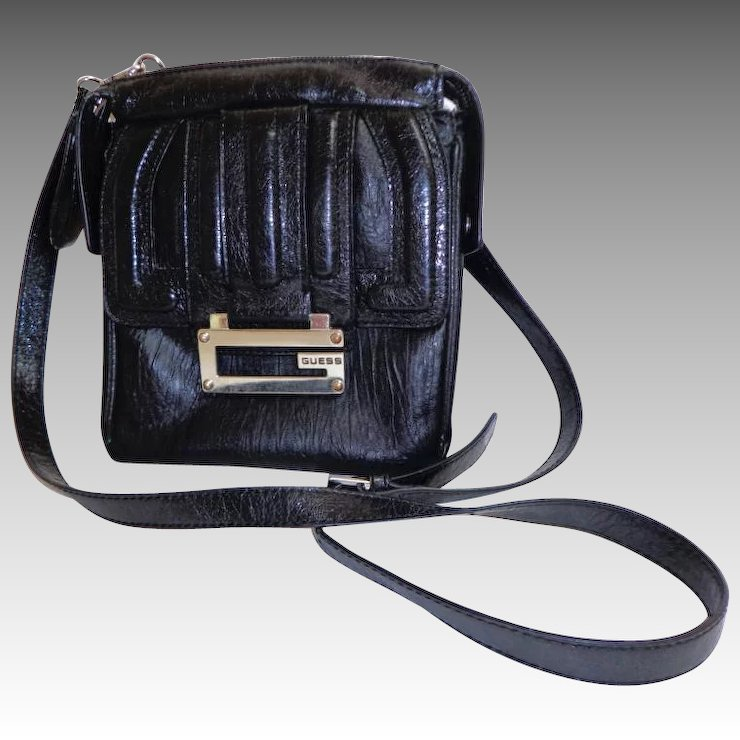 297a7a83639d Black Crossbody Convertible GUESS Purse. Near Fine Condition.   Books and  Bygones
