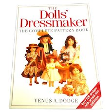 Dolls' Dressmaker.  Complete Pattern Book.  Over 120 Designs.  Actual Size Patterns.  1994.  As New Condition.