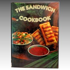 The Sandwich Cookbook. Recipes for Sandwich Toasting Machines.  1980. Near Fine Condition.