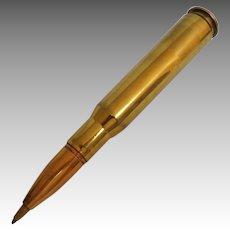 50 Caliber Shell Casing Pen.