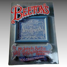 BEETON'S Book of Needlework.  Facsimile Ed.  1986.  600 Engravings.  As New Condition.