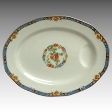 Theodore Haviland Limoges Meat Platter. France. Cachmir Pattern.  1920 -1936.  Mint Condition.