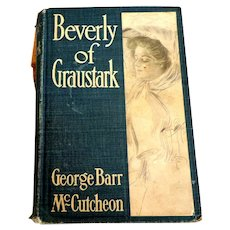 HARRISON FISHER Illustrations.  Beverly of Graustark by George Barr McCutcheon.  1905.  Pub. Dodd, Mead & Co.