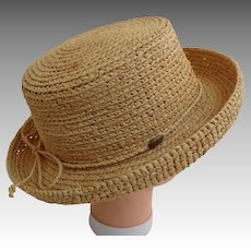 SCALA Designer Straw Hat.