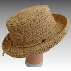 SCALA Designer Straw Hat.