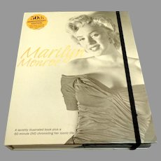MARILYN MONROE. Photographic History of Her Life + 60 Min. DVD.  50th Anniv. Ed.  Boxed.  As New Condition.