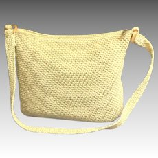 SAK Purse.  Classic Crochet.  Baize.  Cross Body.