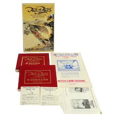 Ace of Aces WWI Air Combat Game.  Balloon Buster.  Nova Game.  1980.
