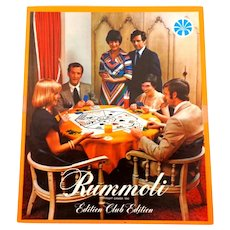 RUMMOLI Game.  1940 Club Edition.  Bilingual English and French.