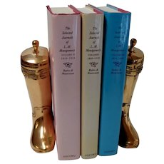 Brass Boot Bookends.  Solid. Weighted.