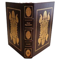 Great Expectations by Charles Dickens.  Easton Press. Collector's Ed.  Genuine Leather.  As New Condition.