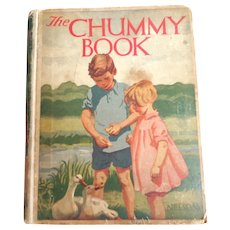 The Chummy Book. 1929.  Nelson Pub. Annual Series. Color Illustrations.  Charming.
