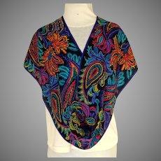 Jones New York 100% Silk Scarf.  Long Rectangular.  Beautiful.  As New Condition.