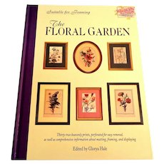 FLORAL GARDEN.  Suitable for Framing.  32 Prints.  1994.  As New Condition.  Beautiful.