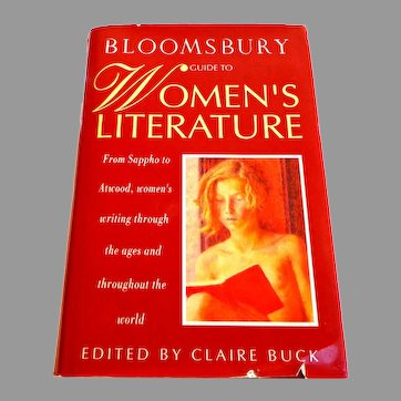 Bloomsbury Guide to Women's Literature.  Ed. Claire Buck.  1st Ed.  Huge Reference.  Mint Condition.